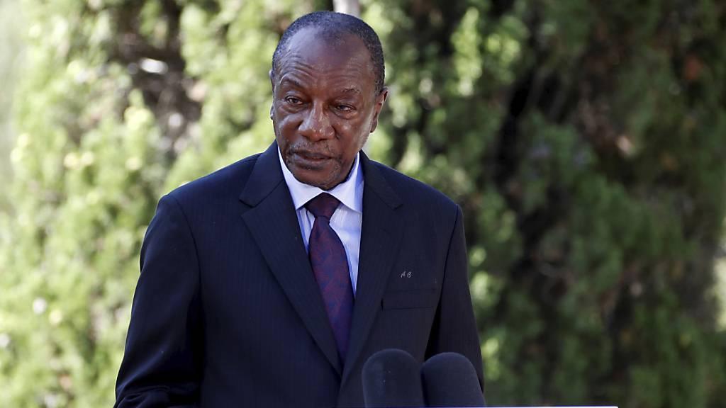 Gefangener Präsident Guineas wohlauf nach Militärputsch