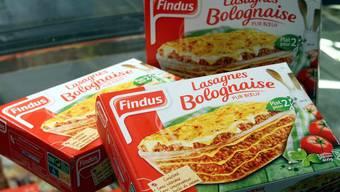 In dieser französischen Findus-Lasagne wurde Pferdefleisch gefunden. Findus Schweiz ist davon nicht betroffen.