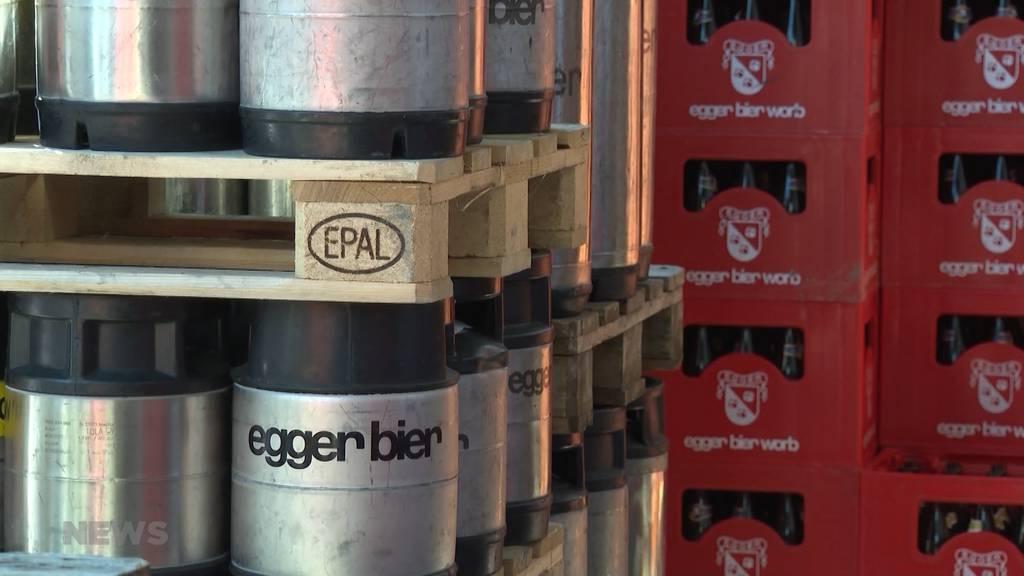 Brauerei Egger lässt ihr Bier künftig in Appenzell abfüllen