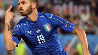 Italiens Internationaler Leonardo Bonucci wird bei Juventus auf die Tribüne verbannt