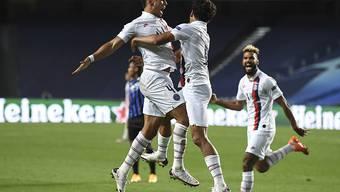 Paris Saint-Germain schoss sich in den letzten Minuten in den Halbfinal