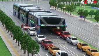 China präsentiert den Bus der Zukunft