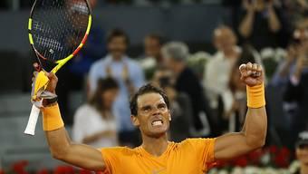 50 gewonnene Sätze auf Sand in Serie: Rafael Nadal