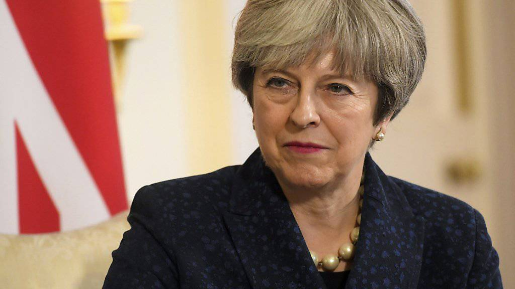 Muss eine Niederlage im Parlament hinnehmen: Die britische Premierministerin Theresa May. (Archiv)