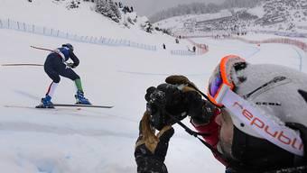 So schnell wie keiner zuvor: Ivan Origone bringt es auf seinen Skiern auf fast 255 Stundenkilometer. (Symbolbild)