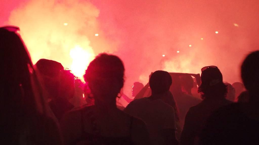 Fan verletzte sich schwer mit Böller an YB-Meisterfeier