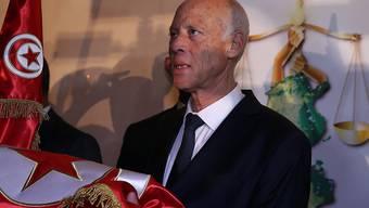 Ein parteiloser Professor der Rechte wird neuer Staatschef in Tunesien: Kaïs Saïed.