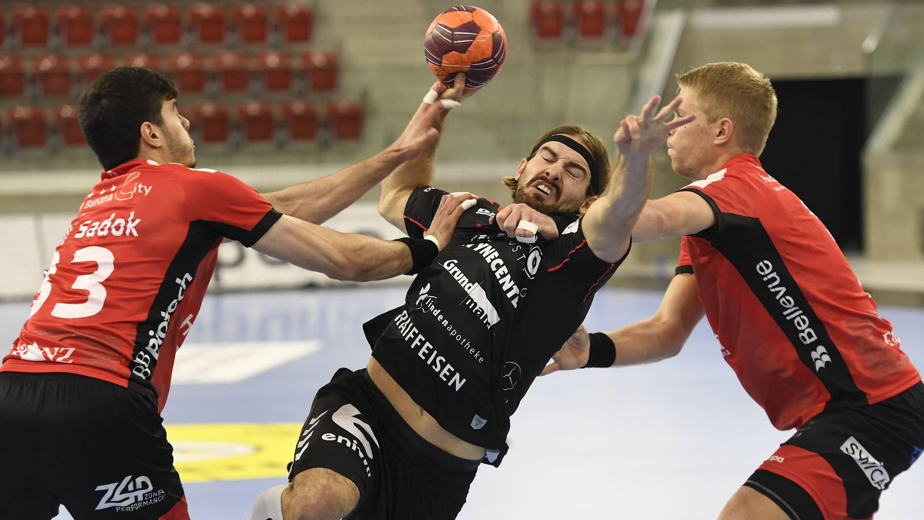HSC Suhr Aarau vs. Pfadi Winterthur