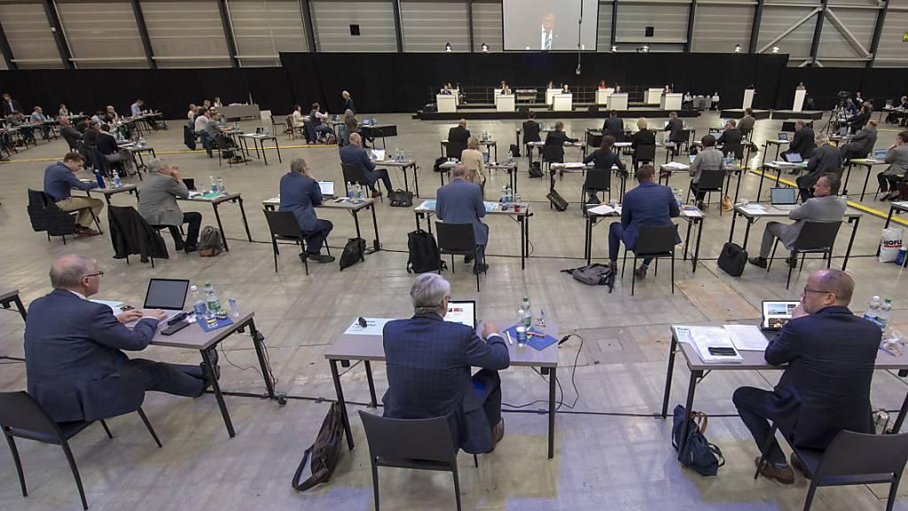 Keine Pyjama-Sessionen für Luzerner Kantonsräte