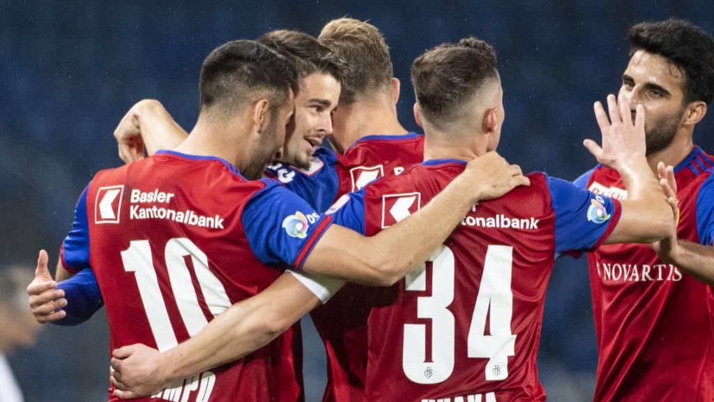 Basel gewinnt, YB gibt Punkte ab
