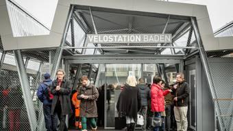 Velostation in Baden eröffnet