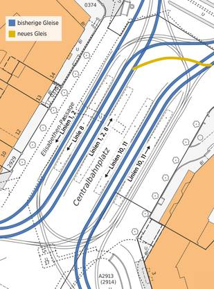 So soll der Centralbahnplatz entwirrt werden.
