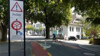Die Stadt schickte nach der Mini-Kollision mit dem Poller eine Rechnung über 8400 Franken.