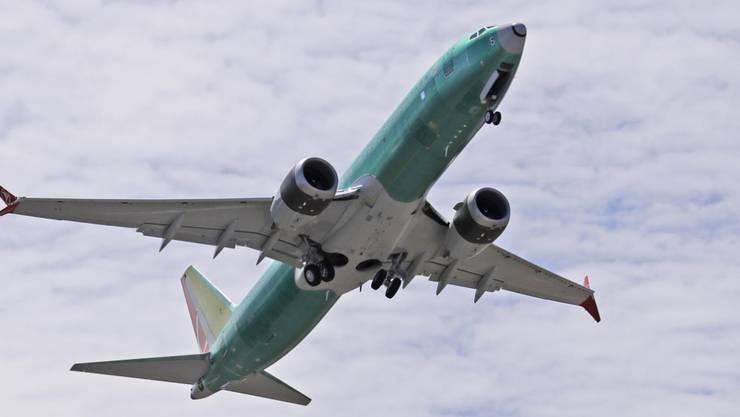 Ein Boeing-Flugzeug des Typs 737 MAX 8. (Archivbild)