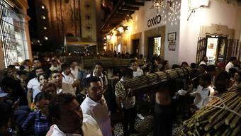 In Mexiko haben an Karfreitag hunderttausende Menschen an Osterprozessionen teilgenommen.