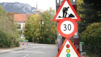 Das ändert sich mit Tempo 30 auf der St.Niklausstrasse