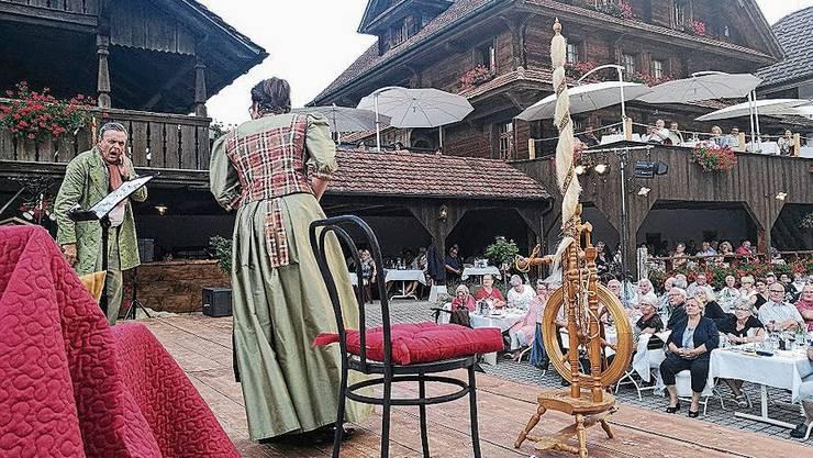 Die letzte Operettenaufführung fand vor drei Jahren auf dem Niesenberg statt.