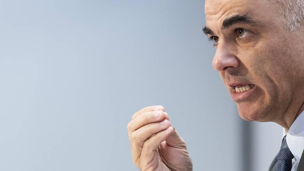 Bundesrat Alain Berset kündigt weitere Verschärfungen an. (Archivbild)