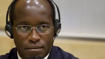 Der Angeklagte vor dem Internationalen Strafgerichtshof (Archiv)
