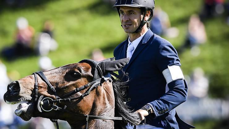 Der Weltranglisten-Erste Steve Guerdat verzeichnete mit Venard de Cerisy am Nationenpreis-Final in Barcelona als Schweizer Schlussreiter zwei Abwürfe