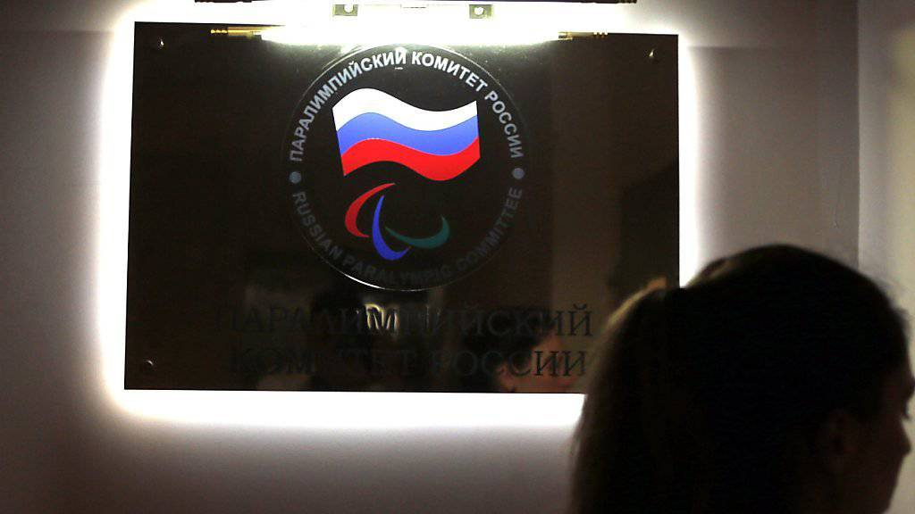 Das Logo des Paralympischen Komitees Russlands wird in Rio nicht zu sehen sein