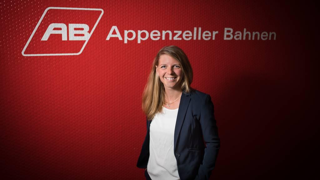Erika Egger-Fässler, die Marketing-Leiterin der Appenzeller Bahnen.