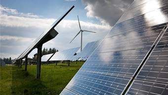 Aargauer Energiestrategie: Die neuen erneuerbaren Energien sollen massiv ausgebaut werden.