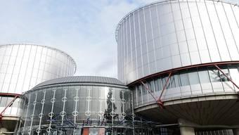 ARCHIV - Der Europäische Gerichtshof für Menschenrechte (EGMR). Russland verstößt mit der Sperrung oppositioneller Internetseiten nach Ansicht des Europäischen Gerichtshofs für Menschenrechte (EGMR) gegen die Meinungsfreiheit. Foto: Jean-Christophe Bott/epa/dpa