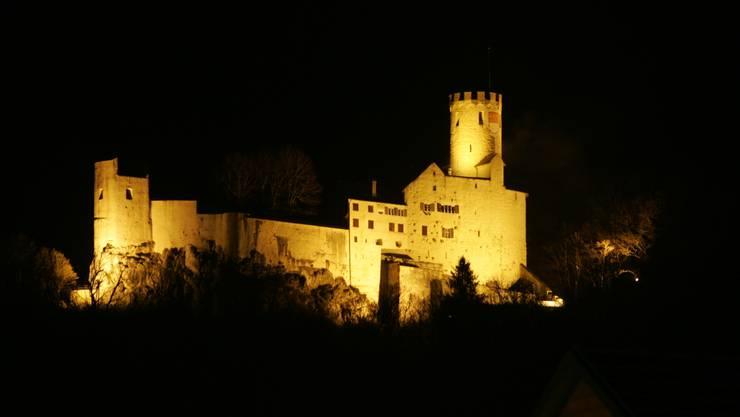 Die Burg wurde in der zweiten Hälfte des 13. Jahrhunderts erbaut – im 14. Jahrhundert wurde Raubritter Kuoni im Wehrturm eingemauert und soll seither dort spuken. In einer eisigen und verschneiten Nacht traf sich die AZ zusammen mit zwei Aargauer Ghosthunters zur Geisterjagd. Das Ziel: Mit Kuoni Kontakt aufnehmen.