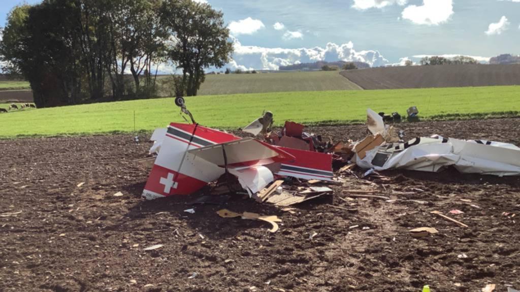 Pilot beim Absturz eines Kleinflugzeugs in der Waadt getötet