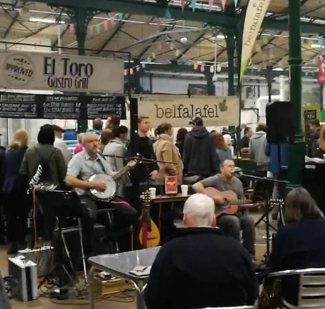 St. Georges Market in Belfast