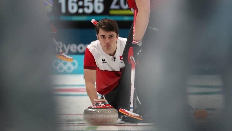 Benoît Schwarz sichert den Schweiz den Halbfinal-Einzug.