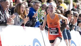 Der WM-Marathon in Londos ist Martina Strähls grosses Ziel.
