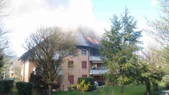 Brand in Mehrfamilienhaus Hägendorf