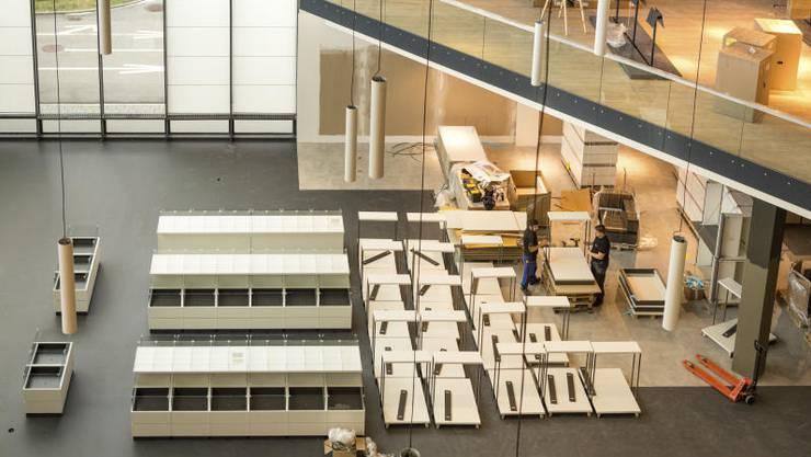 Der österreichische Möbelgrossist XXXLutz eröffnet in Rothrist im ehemaligen Stilhaus von Möbel Hubacher seine erste Filiale in der Schweiz.