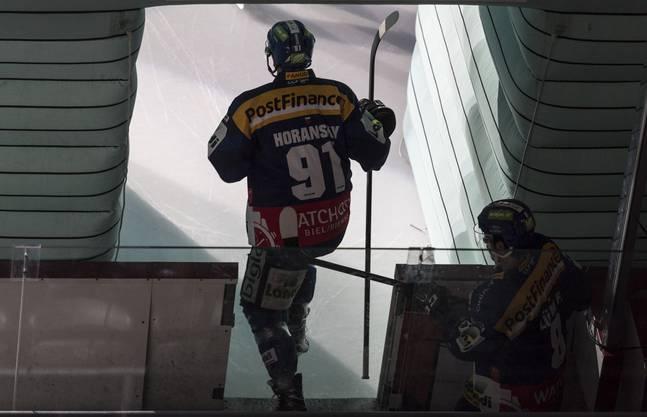 Stanislav Horansky, hier im Biel-Dress, läuft nächste Saison für den EHCO auf