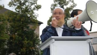 Der Bieler Imam Abu Ramadan bestritt im Interview mit dem «Tages-Anzeiger» und dem «Bund», Muslime zur Gewalt aufgerufen zu haben. (Archivbild)