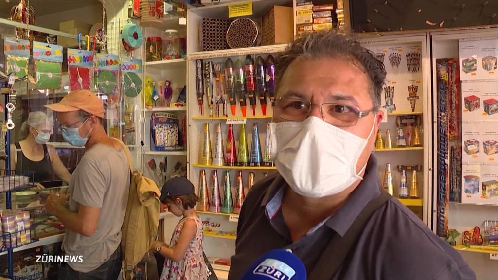 1. August: Corona lässt Feuerwerkverkauf explodieren