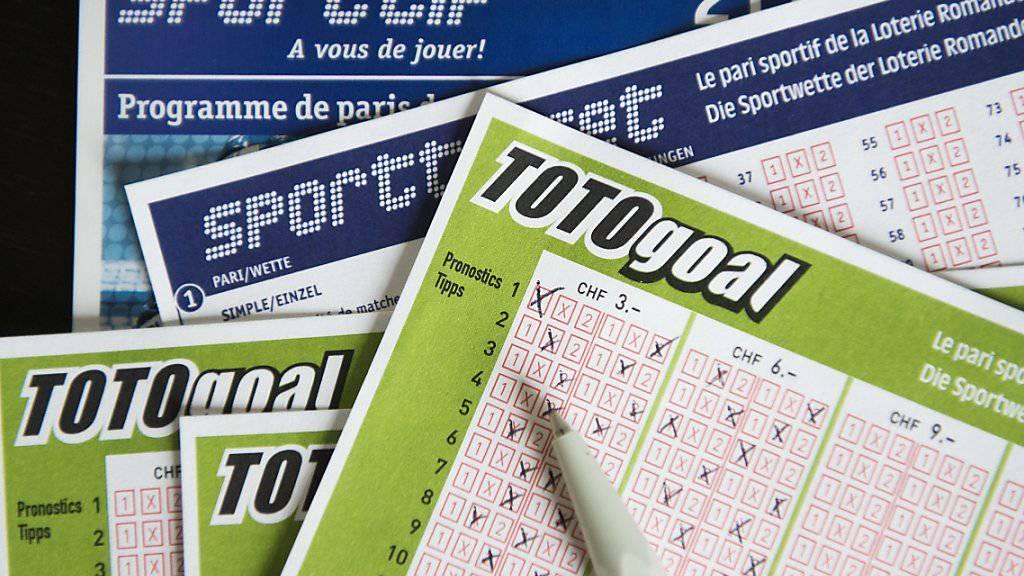 Aus nach fast 80 Jahren: Die Sportwette Totogoal ist am Sonntag zum letzten Mal gespielt worden. (Archivbild)