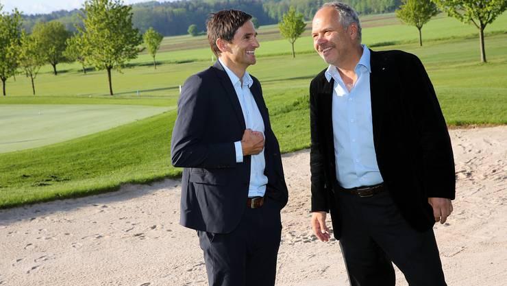 Neben Jochen Müller (Leiter des Direktionsbereichs Freizeit der Migros Aare) und Rudolf Schnorf, sind noch Marco Fumasoli, sowie die Migros-Vertreter Beat Zahnd CEO Migros Aare und Anton Gäumann im Verwaltungsrat. (Archiv)