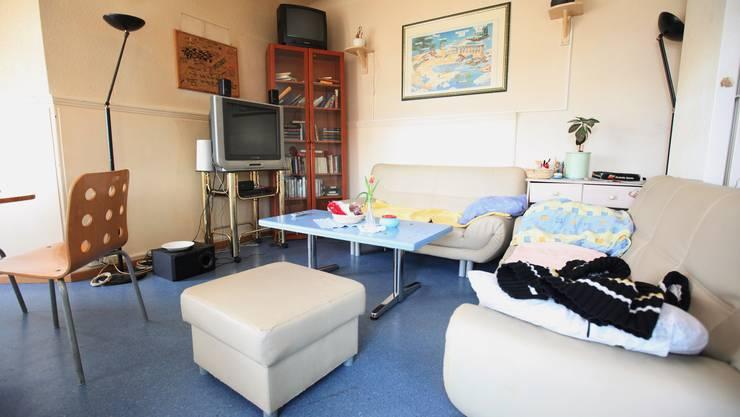 Gemeinschaftsraum in der Klinik in Neuenhof.