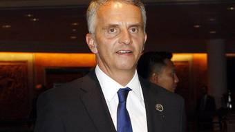 Didier Burkhalter in Indonesien (Archiv)