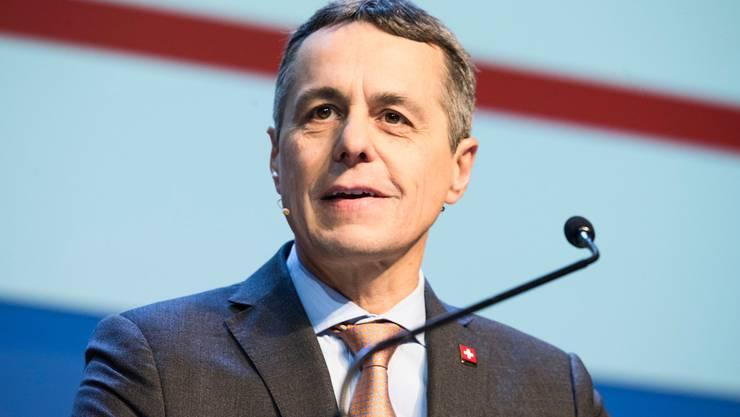 Zieht die Reissleine: FDP-Bundesrat Ignazio Cassis.