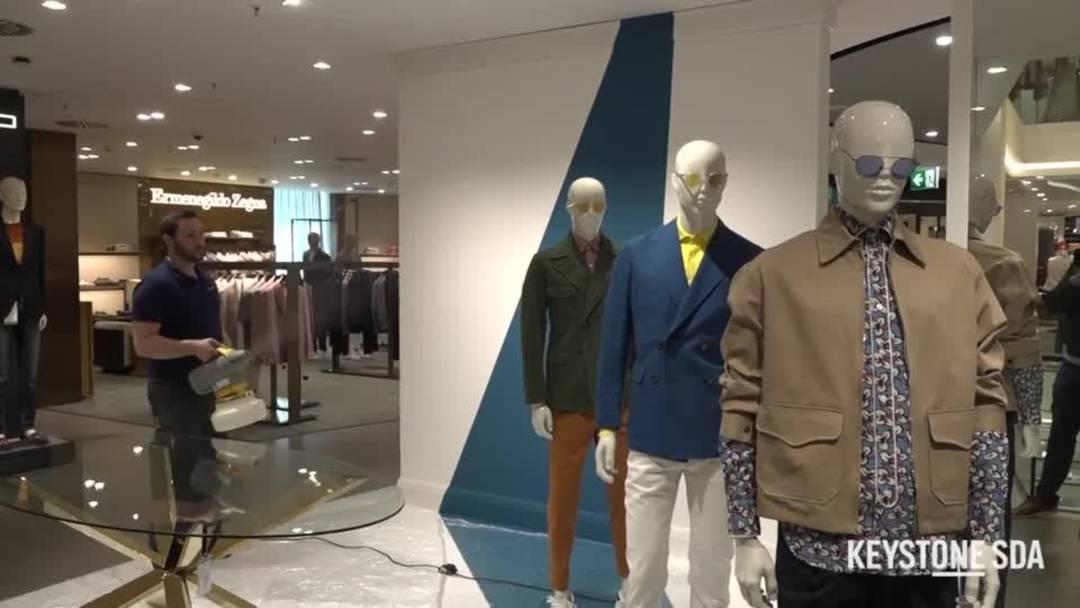 So wird das grösste Kaufhaus der Schweiz coronatauglich gemacht