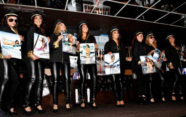 Stolz auf ihren Kalenden: Die Mexicana-Girls