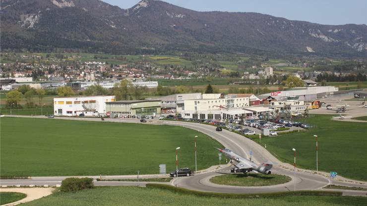 Der Grenchner Flughafen ist für die Region ein Wirtschaftsfaktor.Andreas Toggweiler