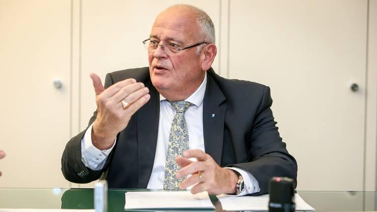 Den Leuten fehle es zunehmend an Respektgegenüber Politikern, findet Markus Kägi.