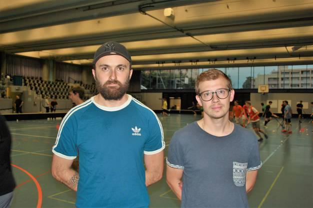 Das neue Trainerduo: Behar Spahija und Michael Hunziker.