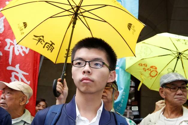Die «Regenschirmproteste» machten ihn weltberühmt: Aktivist Joshua Wong.
