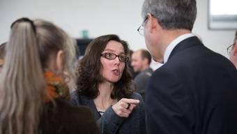Anita Panzer: «Ich trage den Hut der Gemeindepräsidentin. Aus parteiinternen Querelen halte ich mich ab sofort heraus.»